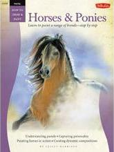 Pastel: Horses and Ponies