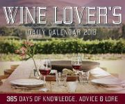 Wine Lover's Daily Calendar 2018