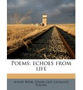 Poems: Echoes from Life