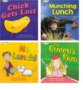 Learn to Read at Home with Phonics Bug: Pack 4 (Pack of 4 Reading Books with 3 Fiction and 1 Non-Fiction)
