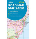 2019 Collins Map of Scotland