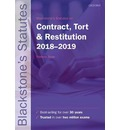 Blackstone's Statutes on Contract, Tort & Restitution 2018-2019