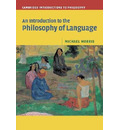Cambridge Introductions to Philosophy: An Introduction to the Philosophy of Language