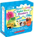 Nonfiction Sight Word Readers Parent Pack Level B