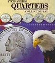 State Series Quarter Collector Map