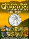 National Park Quarters Collector Folder 2010-2021