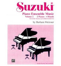 Suzuki Piano Ensemble Music: 2 Pianos, 4 Hands - Second Piano Accompaniments v. 2