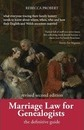 Marriage Law for Genealogists