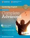 Complete: Complete Advanced Student's Book with Answers with CD-ROM with Testbank