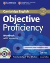 Objective: Objective Proficiency Workbook with Answers with Audio CD