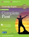 Complete: Complete First Student's Book without Answers with CD-ROM