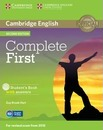 Complete: Complete First Student's Book with Answers with CD-ROM