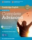 Complete: Complete Advanced Student's Book with Answers with CD-ROM
