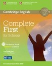 Complete: Complete First for Schools Student's Book without Answers with CD-ROM