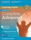Complete: Complete Advanced Workbook with Answers with Audio CD