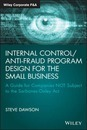Internal Control/Anti-Fraud Program Design for the Small Business