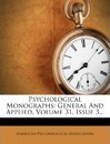 Psychological Monographs