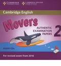 Cambridge English Young Learners 2 for Revised Exam from 2018 Movers Audio CDs