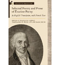 Selected Poetry and Prose of Evariste Parny: In English Translation, with French Text