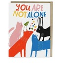 Emily McDowell & Friends Lisa Congdon You Are Not Alone Card