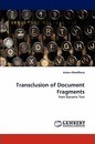 Transclusion of Document Fragments - manu choudhury