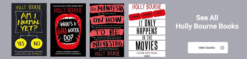 Writers Qa With Holly Bourne